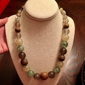 Ball Bead Fashion Necklace